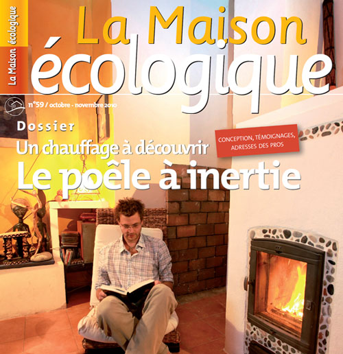 magazine la maison cologique n 59 octobre novembre 2010. Black Bedroom Furniture Sets. Home Design Ideas